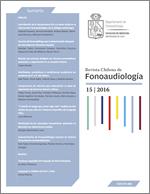 Revista Chilena de Fonoaudiología